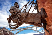 High Scaler Statue w/ Mike O'Callaghan–Pat Tillman Memorial Br