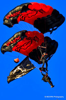 The Black Daggers Parachute Team